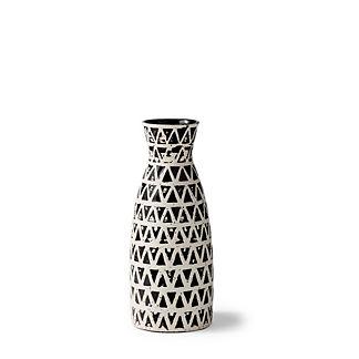 Chiara Ceramic Fluted Vase
