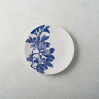 Spring Floral Bloom Salad Plates, Set of Four