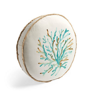 Coastal Coral Indoor/Outdoor Pillow