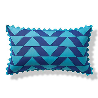 Sorrento Prisms Indoor/Outdoor Pillow