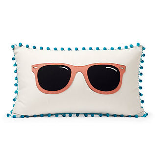 Retro Sunnies Indoor/Outdoor Lumbar Pillow