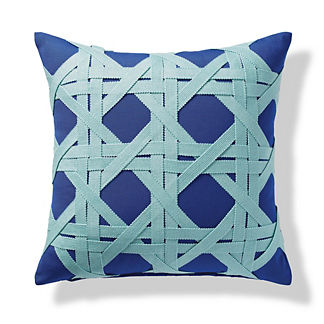 Ocean Trellis Indoor/Outdoor Pillow