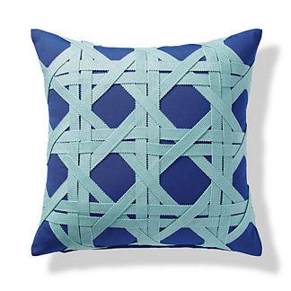 Ocean Trellis Indoor/Outdoor Pillow