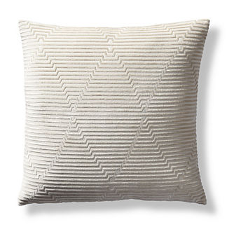 Fischer Cut Velvet Decorative Pillow Cover