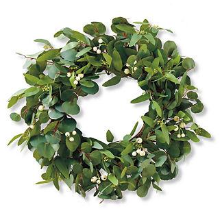 Eucalyptus White Berry Wreath
