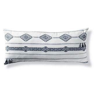 Kiro Melange Tassel Lumbar Decorative Pillow Cover by Martyn Lawrence Bullard