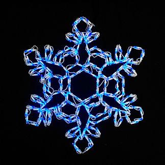 LED Hexagonal Snowflake