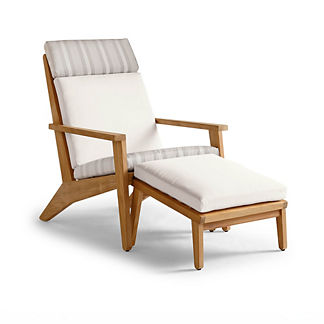 Reeve Lounge Chair & Ottoman Replacement Cushion, Special Order