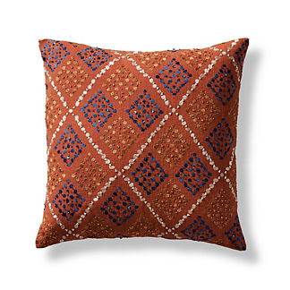 Giada Embellished Decorative Pillow Cover