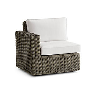 Small Vista Left-facing Chair Replacement Cushions, Special Order