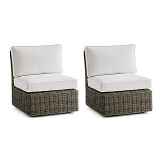 Small Vista Center Chairs Set of Two Replacement Cushions