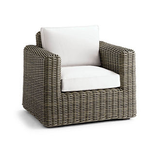 Small Vista Lounge Chair Replacement Cushions, Special Order