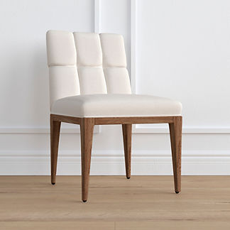 Gramercy Weathered Oak Dining Side Chair, Special Order