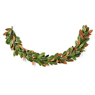 Magnolia Leaf 9 ft. Garland