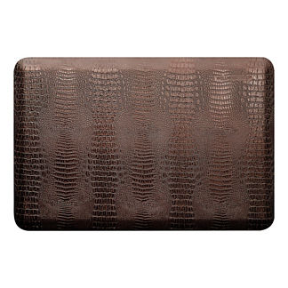 WellnessMats Estate Collection Crocodile Comfort Mat