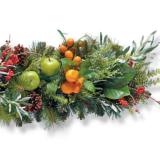 Berry and Bright Indoor 6 ft. Garland