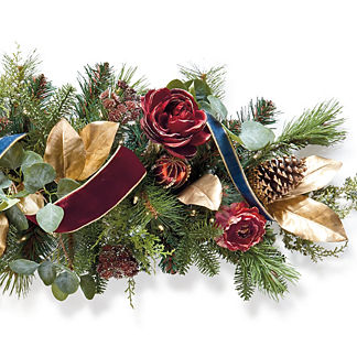 Roman Christmas Cordless Indoor 6 ft. Garland