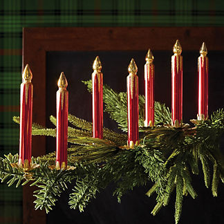 Holiday Glen Candle Accent Kit, Set of 12