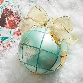 2019 Peace on Earth Ornament