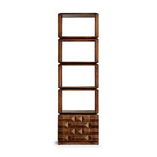 Micah Narrow Bookcase
