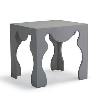 Rayne Upholstered Side Table