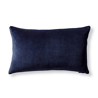 Leighton Velvet Lumbar Decorative Pillow Cover