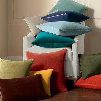 Leighton Velvet Decorative Pillow Covers
