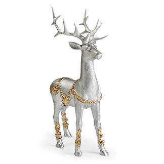 Platinum Standing Reindeer