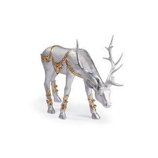 Platinum Feeding Reindeer