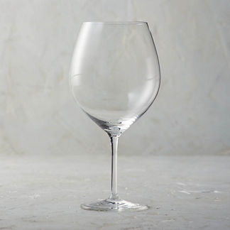 Giulia 28 oz. Burgundy Glasses, Set of Six