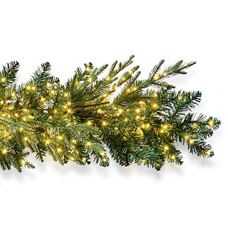 Starry Night Microlight 9 ft. Garland