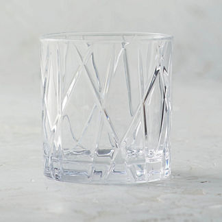 City Double Old-fashioned Glasses by Orrefors, Set of Four