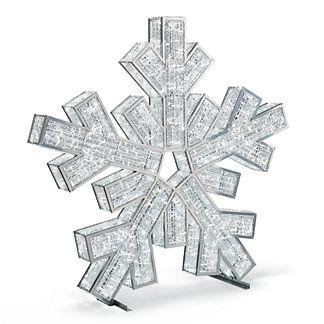 LED 6-1/2' Giant Snowflake