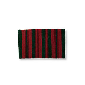 Candy Ribbon Stripe Door Mat