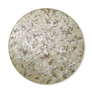 Anabel Printed Round Wall Mirror