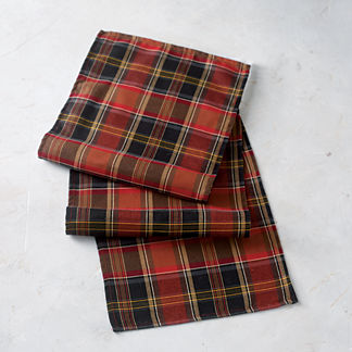 Chandler Plaid Table Runner
