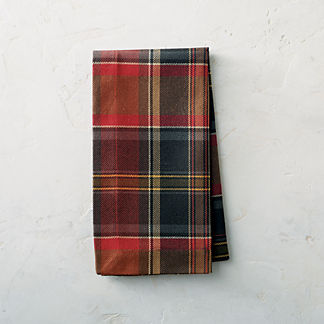 Chandler Plaid Napkins, Set of Four
