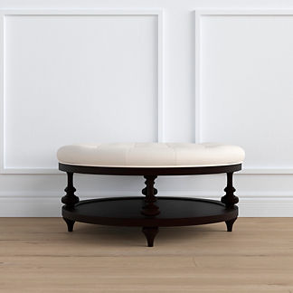 Small Ellery Round Ottoman, Special Order