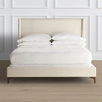 Lynne Upholstered Shelter Bed