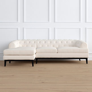 Bel Air Left-facing Chaise Sectional by Martyn Lawrence Bullard, Special Order