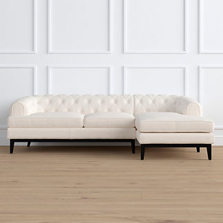 Bel Air Right-facing Chaise Sectional by Martyn Lawrence Bullard, Special Order