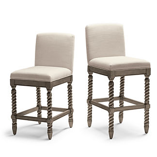 Waverly Twist Bar & Counter Stool