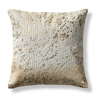 Oro Hide Decorative Pillow Cover