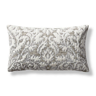 Guinevere Embroidered Lumbar Decorative Pillow Cover