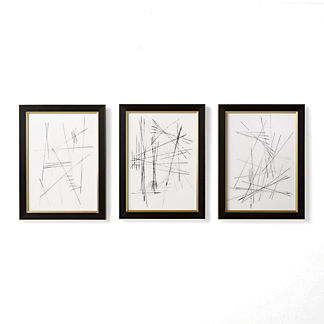 Primo, Secondo, Terzo Giclee Prints, Set of Three