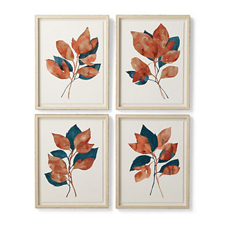 Woodland Study Giclee Prints, Set of Four
