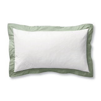 Resort Border Frame Pillow Sham