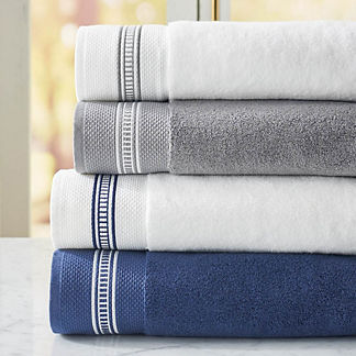 Resort Ladder Stitch Bath Towel