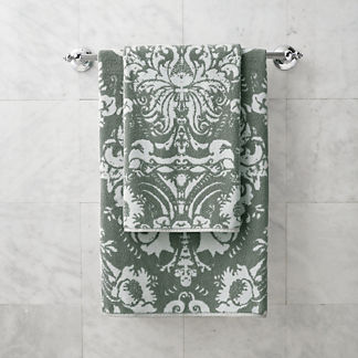 Resort Damask Hand Towel