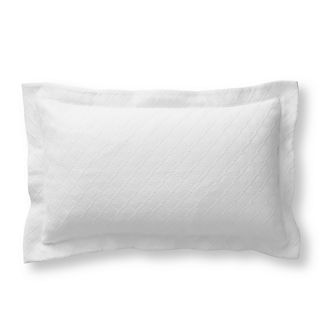 Resort Diamond Matelasse Pillow Sham